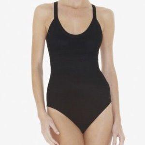 """Herve Leger """"Sylvia"""" black bathing suit"""